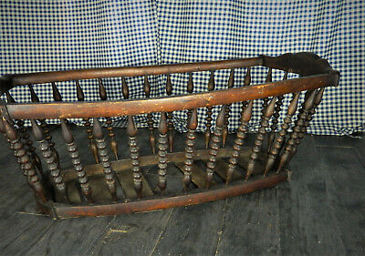Antique bentwood cradle. early 1900s