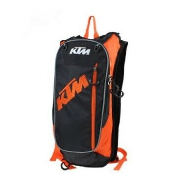 New Black KTM Motorcycle Off Road Hydration Backpack Camelback Water Helmet Bag