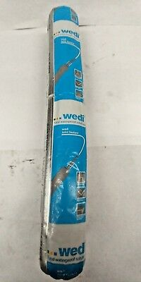 Wedi Gray Polymer Joint Sealant 20 Oz Sausage - Waterproof / Mold Proof