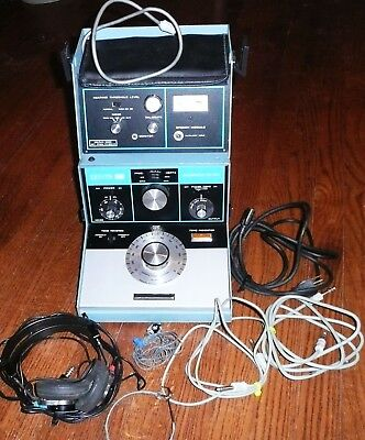 Vintage Zenith Hearing Audiometer ZA-113A Tone complete & working