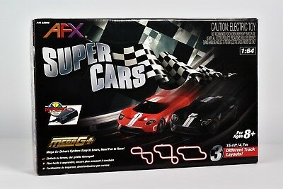 BLOWOUT SALE AFX Super Cars Race Set, 120-Omh Controllers, Tri Power, NO CARS