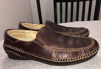 79bc5318d271 Pikolinos Brown Leather Slip On Loafers Casual Men s Shoes Sz 42 US 9 - 9.5