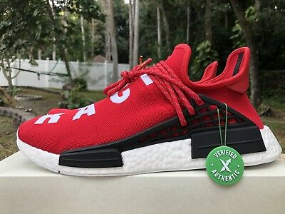 new styles ab1d1 b2904 ADIDAS PHARRELL WILLIAMS Human Race Nmd Bb0616 Size 11.5 Red Scarlet Brand  New