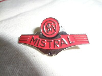 PINS PIN'S train MISTRAL - Chemins de fer