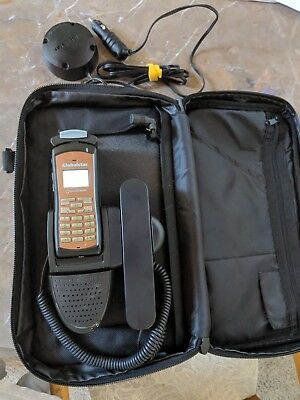 Globalstar GSP1700 Satellite Phone with handsfree kit & external antenna