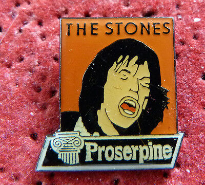Pin's Musique Chanteur Groupe The Rolling Stones Collection Proserpine