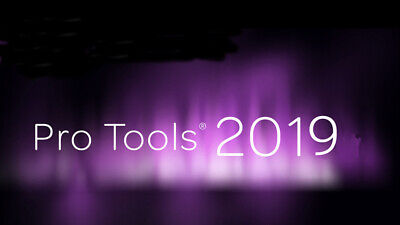 Avid Pro Tools 12 2018 2019 12.8.3 Annual Subscription Software Activation Card