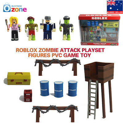Roblox Zombie Attack Playset Figures PVC Game Toy Kids Gift