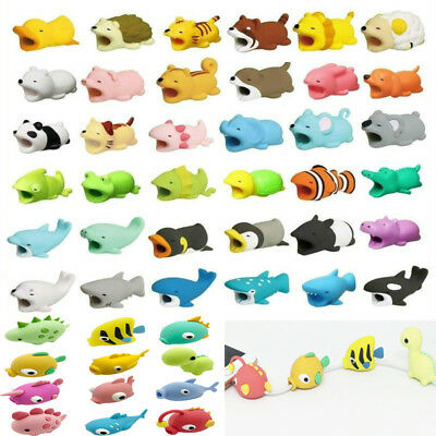 Animal Bite USB Charger Cable Cord Protector For Android Samsung HUAWEI Xiaomi