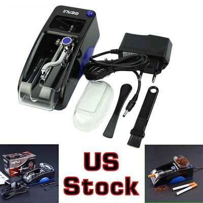 Electric Automatic Cigarette Rolling Machine Tobacco Injector Maker Roller Easy