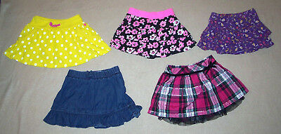 Skorts Girls size 3T Childrens Place Jumping Beans Carters Sonoma Lot of 5