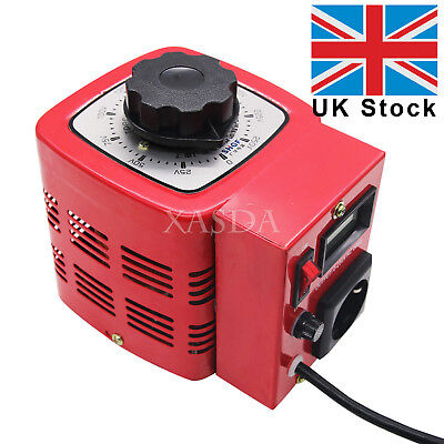 500W 220V Variac Variable Transformer Voltage Regulator Powerstat EU Plug UK* xa