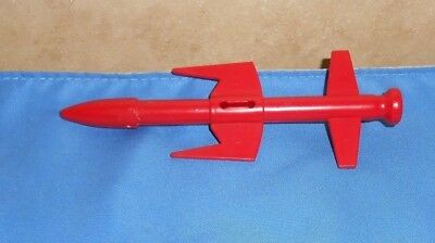 ARAH GI JOE COBRA MAMBA Red Large Missile Accessory Piece Part 1987