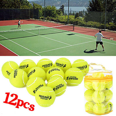 Sports Elasticity Green Tennis Balls Rubber For Training Adults