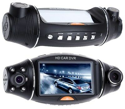 GPS HD Dual Lens 270° Dash Cam Car DVR Video Recorder Camera Front and Rear US