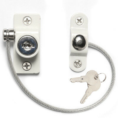 Window Door Restrictor Safety Locking UPVC Baby Child Security Lock Wire Cable