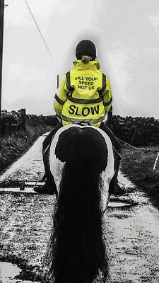 hi vis riding jacket (all Sizes available )