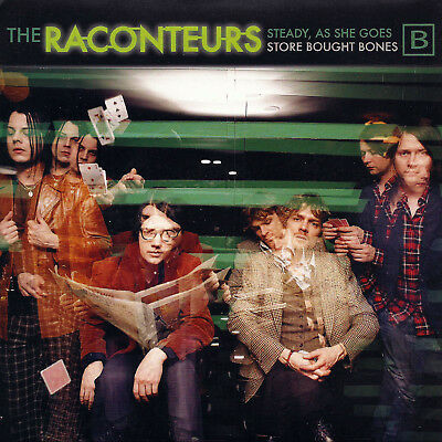 THE RACONTEURS Steady As She Goes (B) 7inch 2006