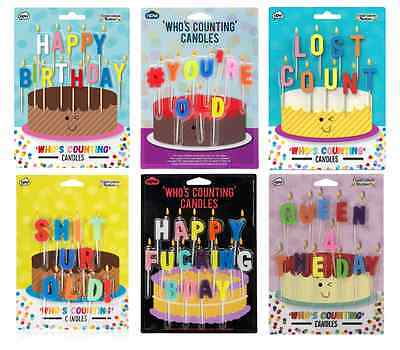 Who's Counting Birthday Candles # You're Old,Lost Count,S**t Ur Old,Queen 4 day