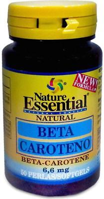 BETACAROTENO 6,6 mg 50 perlas  nature essential