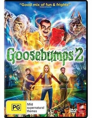 Goosebumps 2: Haunted Halloween NEW & SEALED DVD R4 2019 New Release Movie