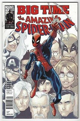 AMAZING SPIDER-MAN: BIG TIME #1 | reprint 648-650 | Newsstand UPC | 2011 | VF/NM