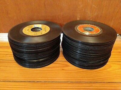 Lot of 100+ Records - 7 inch 45 RPM - Crafting or Decoration