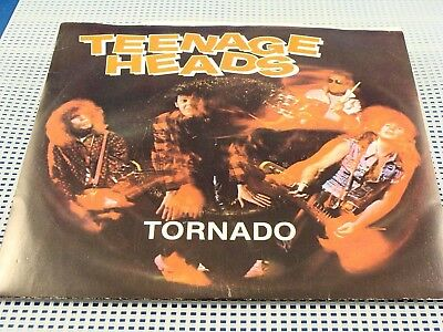 TEENAGE HEAD - Tornado / Luv For Sale - NEAR MINT w/Picture Sleeve - Canada 45