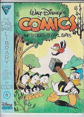 Walt Disney's Comics and Stories byBarks #6 still sealed with card FREE shipping