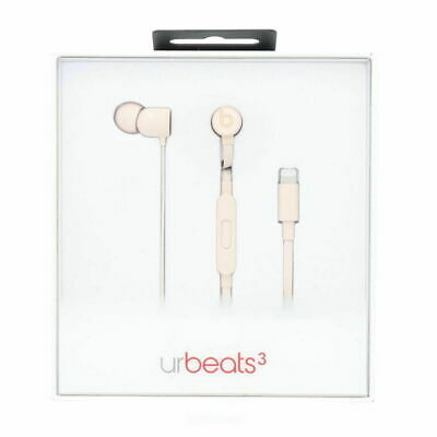 Authentic Beats Urbeats3 MQFU2LL/A Headphones with 3.5mm Connector Fast Shipping