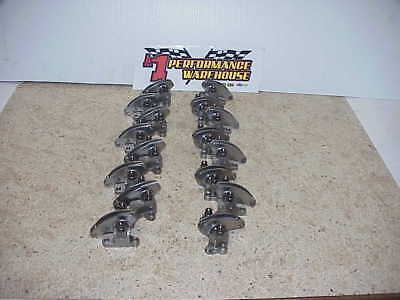 T & D  Chevy R-07 Shaft Stainless Roller Rocker Arms & Stands 2.20 Ratio NASCAR