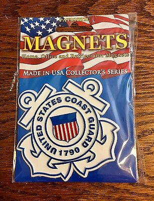 U.s. Coast Guard Magnet - New