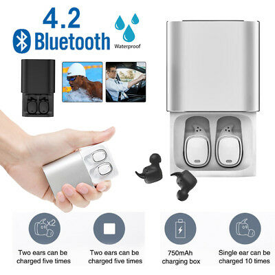 QCY T1 PRO TWS Bluetooth Wireless Earphones Touch Control with Charging Case