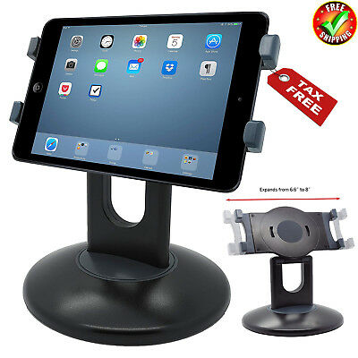Tablet Stand 360°Retail Pos Rotating iPad Mount Holder Swivel Base Support Stand