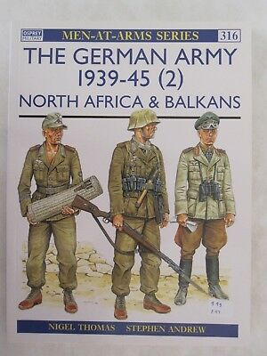 Osprey - The German Army 1939-45 (2) North Africa & Balkans (Men-at-Arms 316)