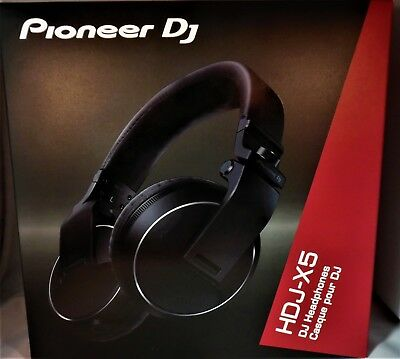 Pioneer DJ HDJ-X5 Professional DJ Headphones -Closed Back-Sturdy-5hz-30khz Range