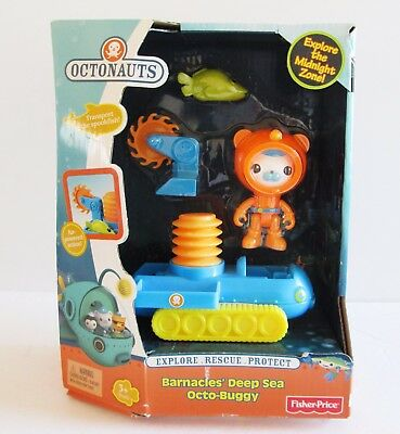 Fisher-Price Octonauts Bernacles' Deep Sea Octo-Buggy Toy