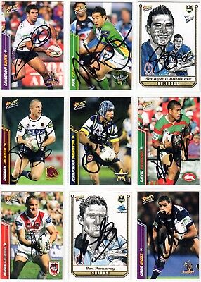 2007 Champions SELECT Autograph IP Trading Cards
