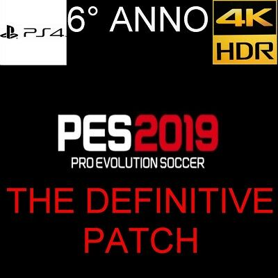 PATCH Option file Pes 2019 Ps4 con BUNDESLIGA,MLS,NAZIONALI ATTUALI&CLASSICHE