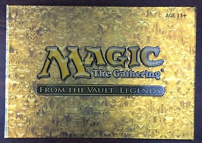 MTG Magic: The Gathering FTV From the Vault, Legends BRAND NEW, FACTORY SEALED