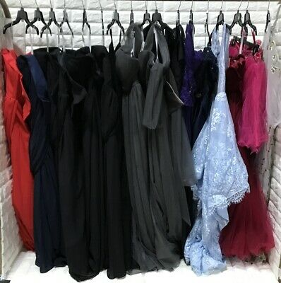 wholesale lot of 17 pcs Women's Prom Bridesmaid dresses Formal Party Gown