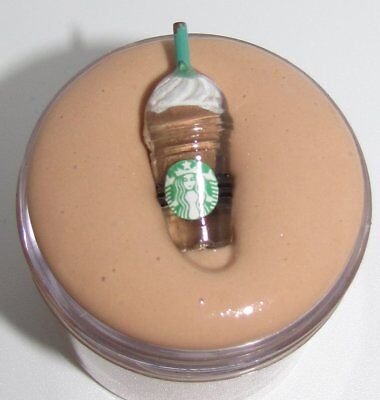 Starbucks coffee inspired Frappuccino resin cabochon slime charm frapuccino