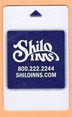 "HOTEL ""SHILO INNS"" U.S.A.  ROOM KEY / CARD for collection"