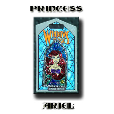 Disney Pin of the Month Windows of Magic Princess Ariel LE 2000 Little Mermaid