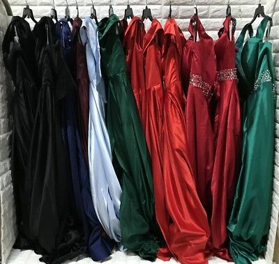 wholesale lot of 12 pcs Women's Prom Bridesmaid dresses Formal Party Gown dress
