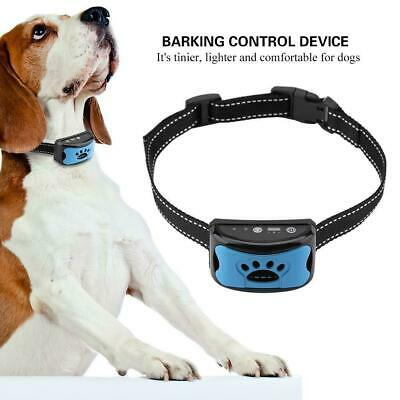 Barking Control Device Rechargeable Waterproof Anti-Barking Collar Detection