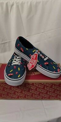 0b12a16d6ed44a Vans pool vibes blue ashes authenticBBq men s shoe size 6.5 woman s 8.0
