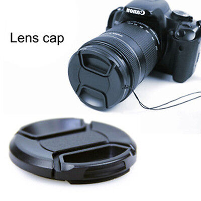 72mm Front Lens Cap Hood Cover Snap-on for Camera Trendy