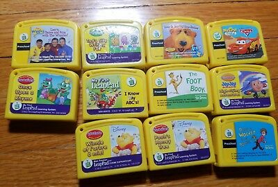 Lot of 11 Leap Frog My First Leap Pad Game Cartridges Leapfrog Leadpad