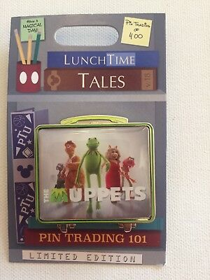 Disney Parks Trading Pin Lunch Box Lunchtime Tales November 2018 The Muppets